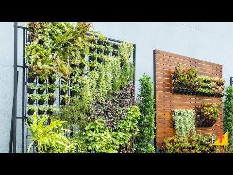 Clique e veja o vídeo Curso a Distância Jardins Verticais - Implantação e Manutenção