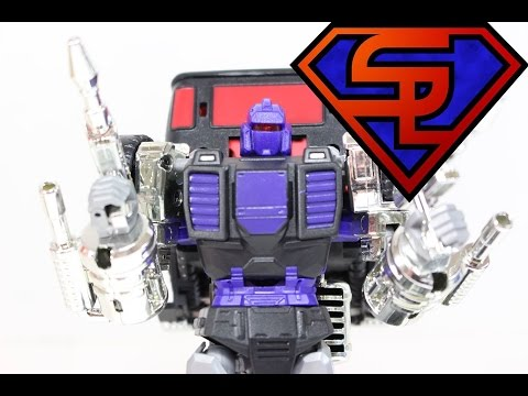 Transformers XTransbots Masterpiece  Axis AKA Not Full-Tilt TFCon Chicago 2014 Exclusive Review