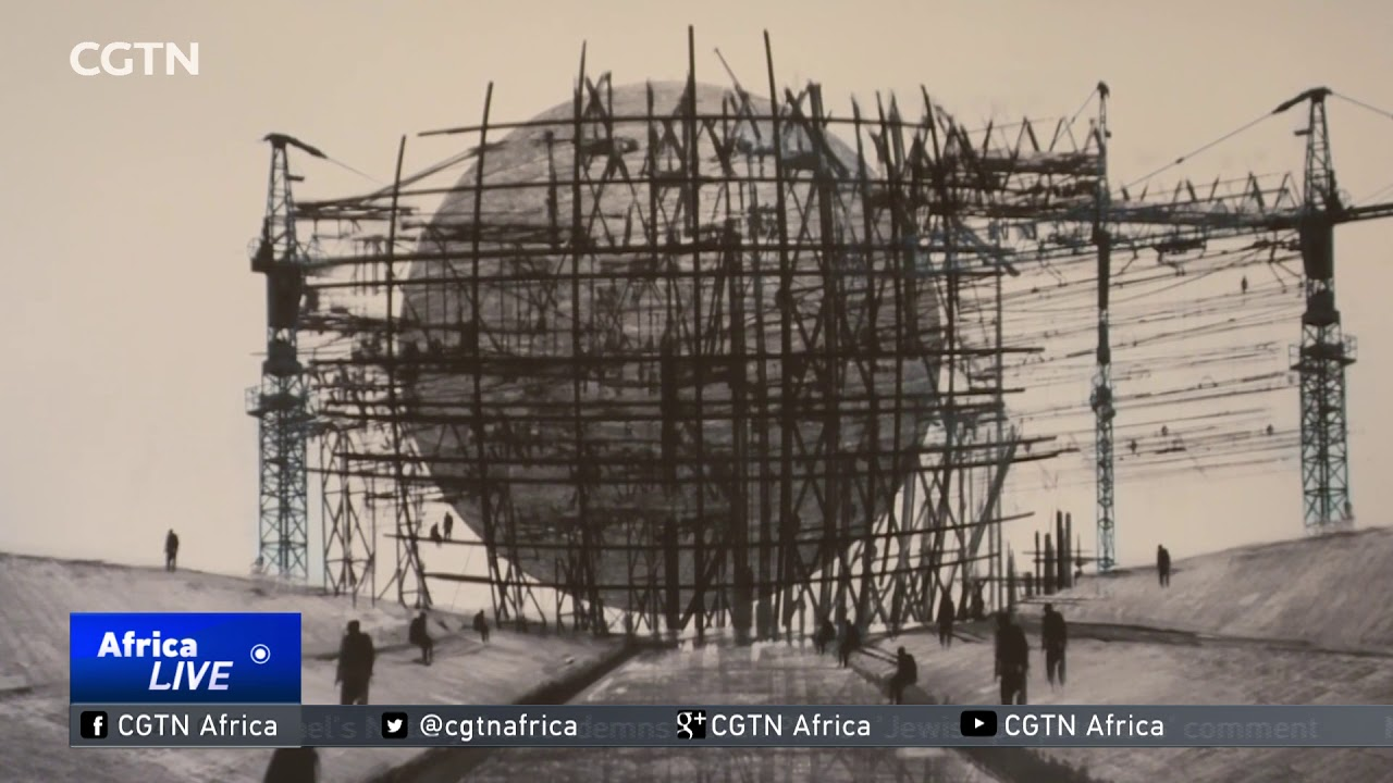 CGTN: Ethiopian Artist Explores Art and Technology At An Exhibition In USA - ኢትዮጵያዊው ሰዓሊ በአሜሪካን የጥበብ