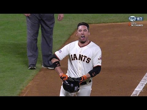 NLCS Gm5: Ishikawa sends Giants to WS with homer
