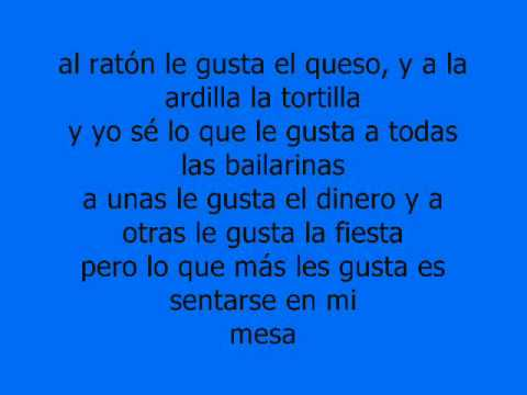 Raton Y Queso - Cartel De Santa Con Letra.wmv video