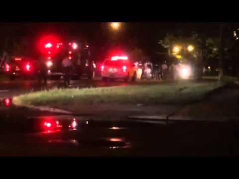 SWAT moving in on people in Ferguson