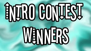 - Intro Contest Winners -