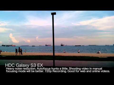 HDC Galaxy S3 EX GT-i9300 Super Clone MTK6577 Camera Test