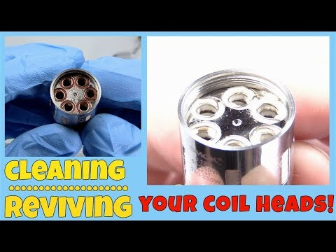 SAVE YOUR MONEY! How To Clean & Re-Use Your Coil Heads!