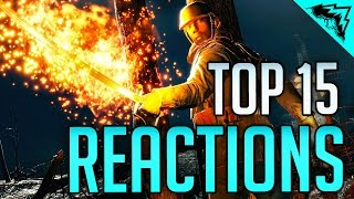 Top 15 Reactions & Kills - Battlefield 1, Rainbow 6 Siege, Battlefront (Bonus Plays 42)