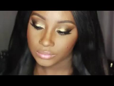 La magia del maquillaje en piel oscura.