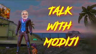 PLAYING WITH MODIJI , SAYING ABOUT MEMBERSHIP    GAME IS NOT OPEN    -GARENA FREEFIRELIVE