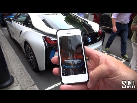 BMW Mobile i App for i8 and i3 on iPhone and Android