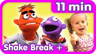 Shake Break + More | Excercise Songs for Kids | Pancake Manor
