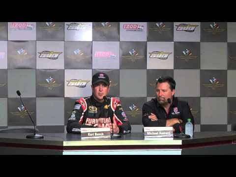 Kurt Busch Post Test Press Conference