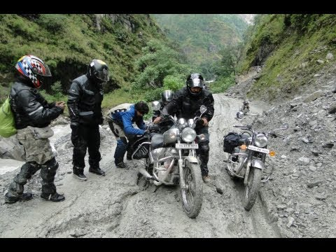 Living Cars: Royal Enfield Tour of Nepal 2011 (Episode 43)