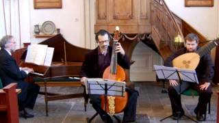 Gigue in d-minor from the Fourth Book, by Marin Marais