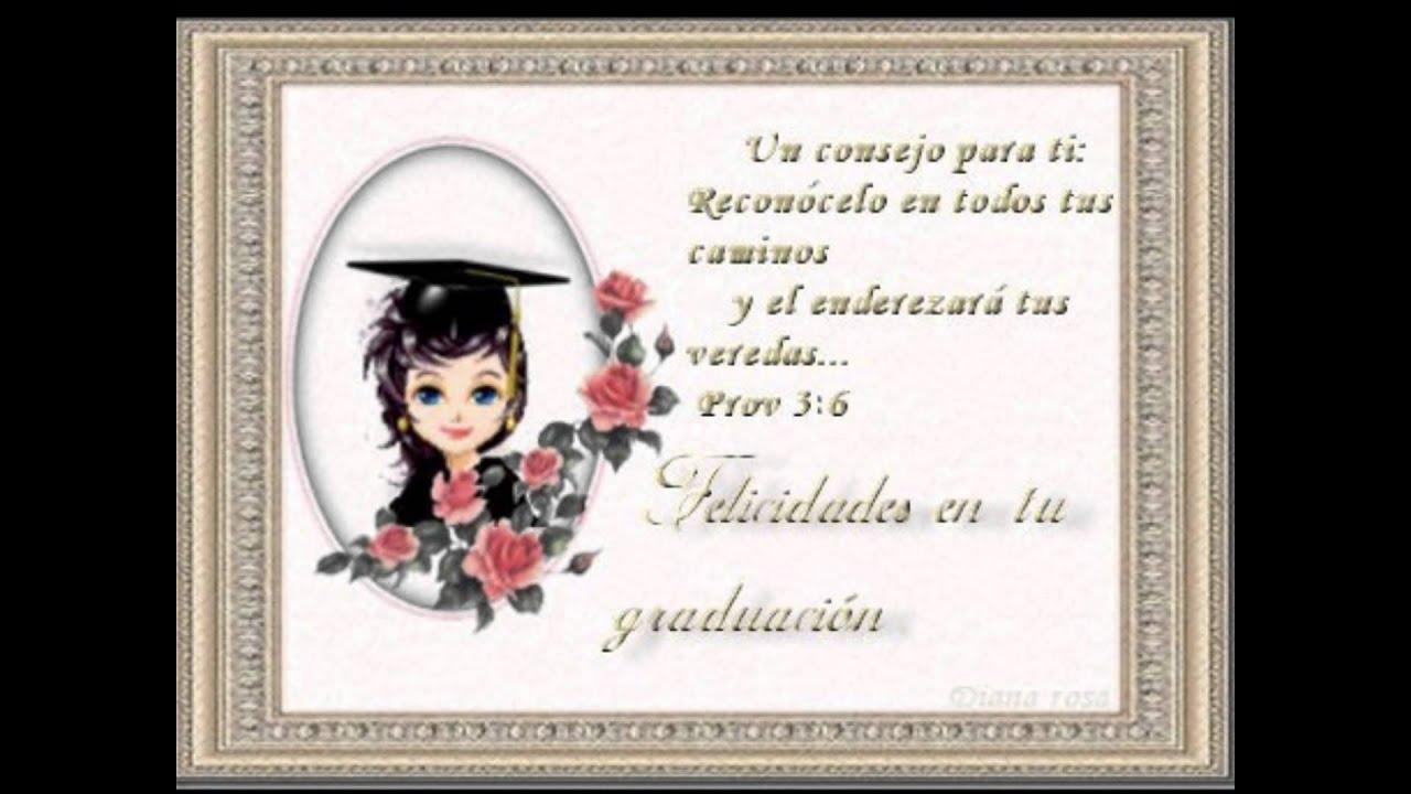 Tarjetas De Graduacion Para Sobrina