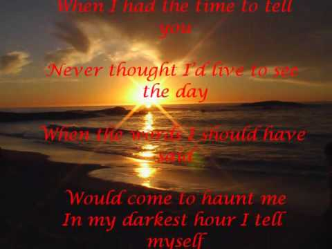 Westlife - I'll See You Again With Lyrics video