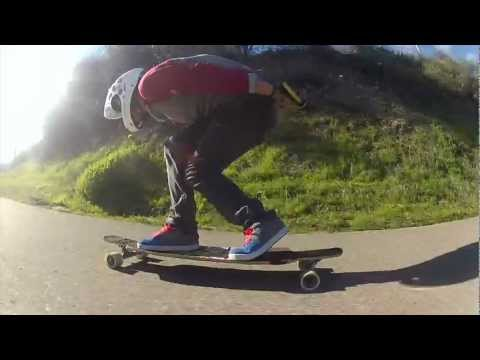SantaGnarbara Longboarding: Git up, Get out and skate.