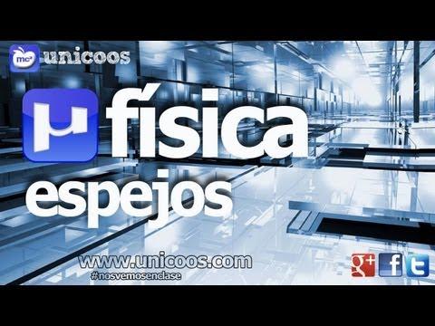 FISICA OPTICA Espejo Concavo 01 2ºBACHI unicoos