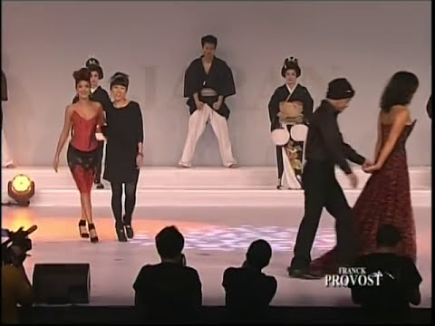 FRANCK PROVOST PARIS HAIR SHOW 2010 JAPAN