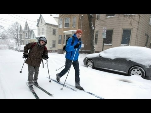 Blizzard 2013: Boston Families Brace for Extreme Weather