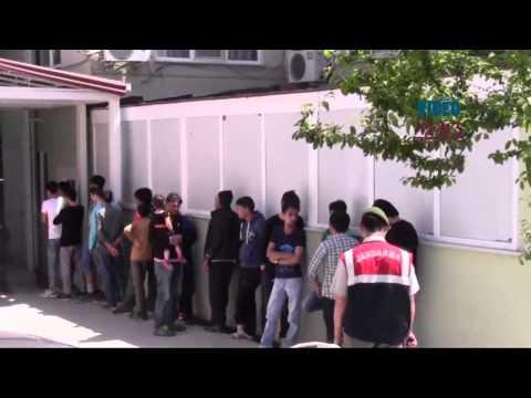 Illegal immigrants operations in Turkey's Aegean Sea