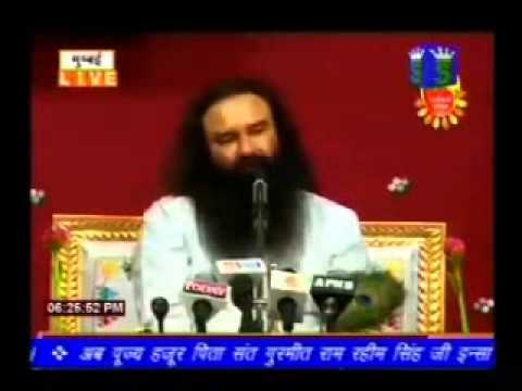 Dera Sacha Sauda Live Satsang 28 October 2014 Mumbai video