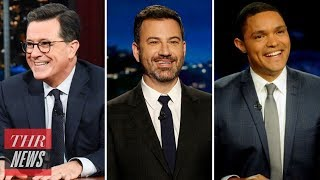Late-Night Hosts Mock White House for Allegedly Releasing Doctored Jim Acosta Footage | THR News