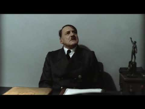 Hitler is informed about the Downfall Parodies Forum