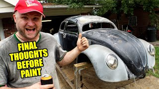 LAST UPDATE - What Comes Next? - ROTTEN OLD 1956 VW Beetle - 121