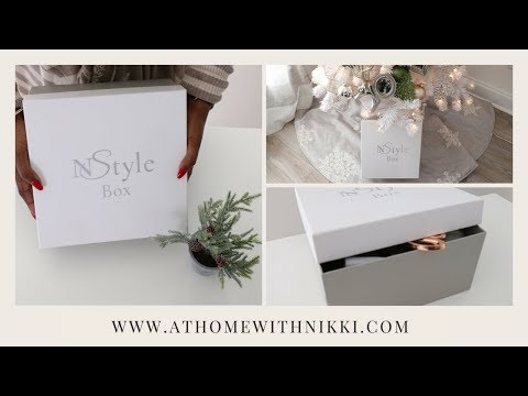 MY DECEMBER NSTYLE SUBSCRIPTION  UNBOXING