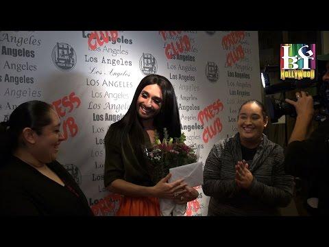 SUPERSTAR Drag Queen Artist CONCHITA WURST in Los Angeles! 2015