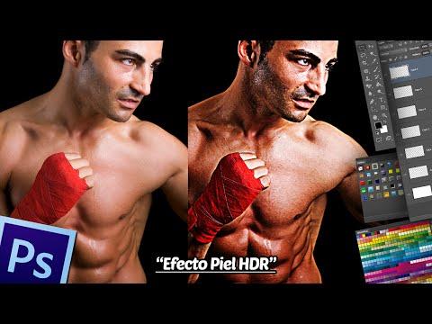 Tutorial Photoshop: Efecto Piel HDR.