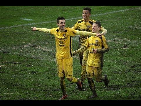 Юношеская Лига УЕФА. Шахтер - Нитра - 2:0. Видеофрагменты игры