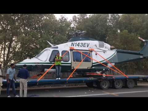 Helicopter Shifting/ Transport by Road in Dubai by PORTS Shipping