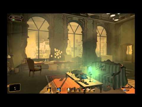 Deus Ex Human Revolution - Adam Jensen's Apartment