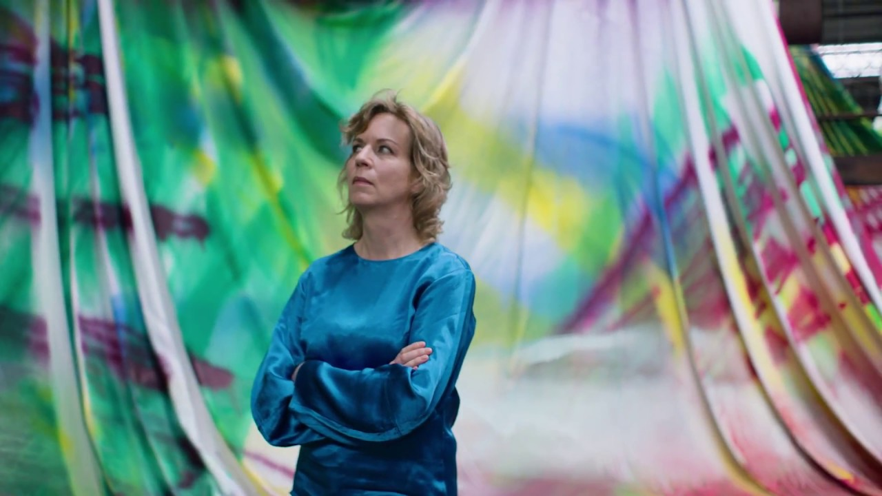 Carriageworks: Katharina Grosse - Knight Story