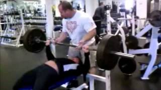 Justine Dohring Bench Press 315x3.wmv