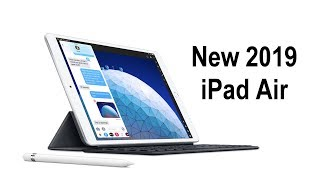 2019 iPad Air and iPad Mini RELEASED with A12 Chip - First Look