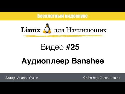 Видео #25. Аудиоплеер Banshee