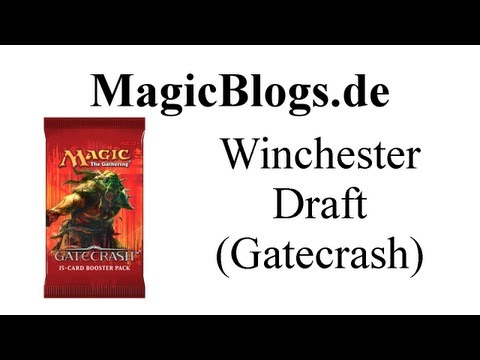 Magic Mtg Winchester Draft Gatecrash (inkl. nette Bomben)