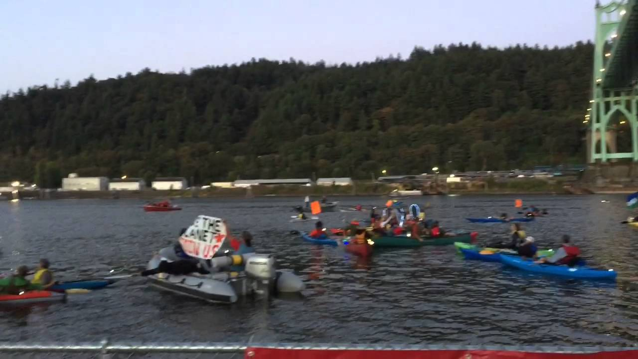 Activists Protesting Oil Drilling