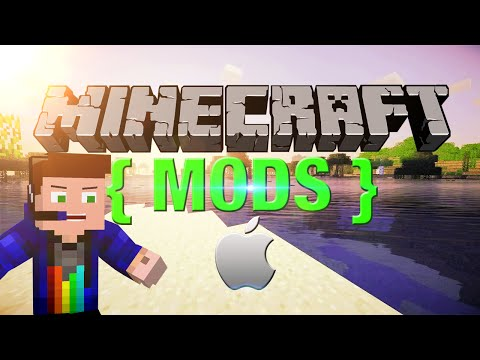 """How to install Minecraft Mods 1.7.10/1.8 on MAC"""