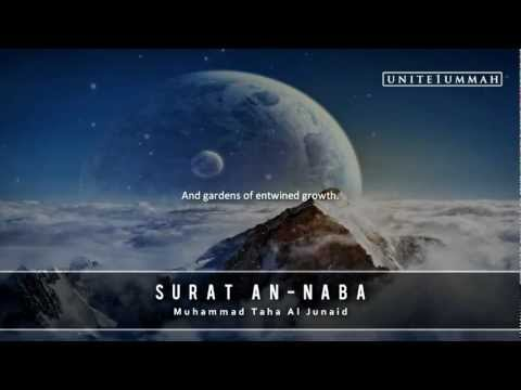 Muhammad Taha Junaid | Surat An-naba | Studio Recording | Green Lane Masjid video
