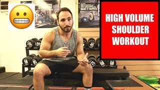 HOW TO GET BIG AND STRONG SHOULDERS | STEP OUT YOUR COMFORT ZONE