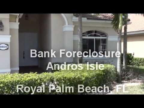Bank Foreclosure in Andros Isle, Royal Palm Beach FL
