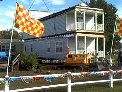 Atchafalaya homes two story mobile home part 2 youtube for Two story double wide