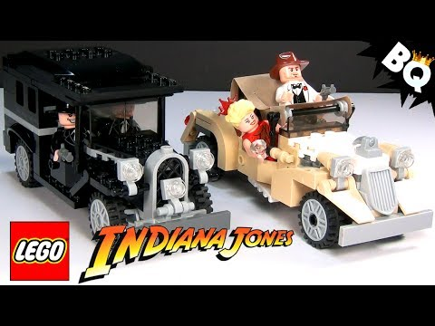 LEGO Indiana Jones Shanghai Chase 7682 Build & Review