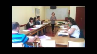 Euskara ikastaro trinkoak musutruk Ulibarri euskaltegian - Haizea Garcia eta Irune Barcena