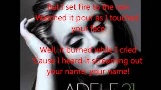 Set Fire To The Rain Adele Live At The Royal Albert Hall