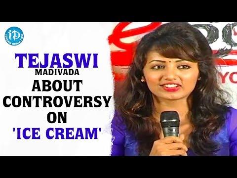 Tejaswi Madivada Clarifies The Controversy On 'ice Cream' Nude Scene - Heroine Tejaswi Interview video