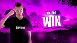 MEIN 1000. FORTNITE WIN | Pain